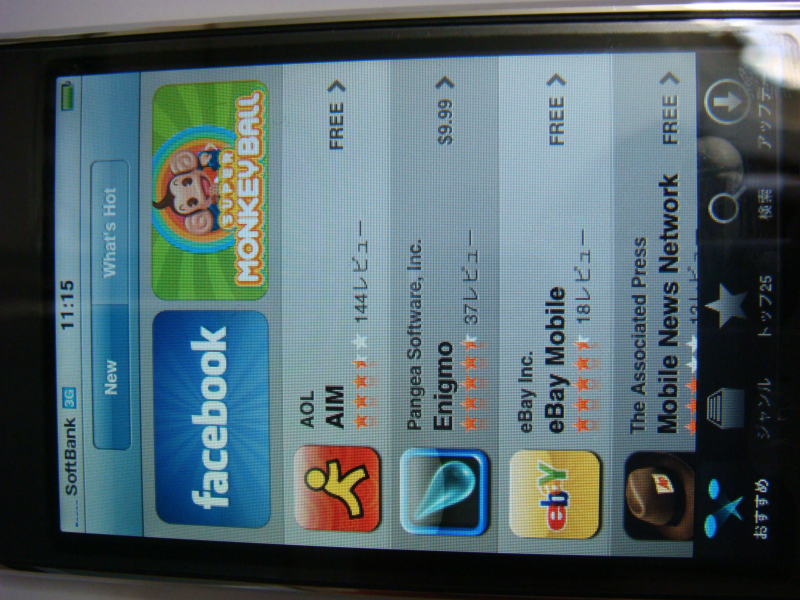 iPhone 3G App Store