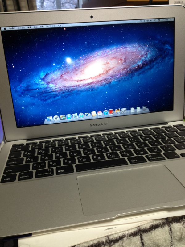 MacBook Air液晶画面