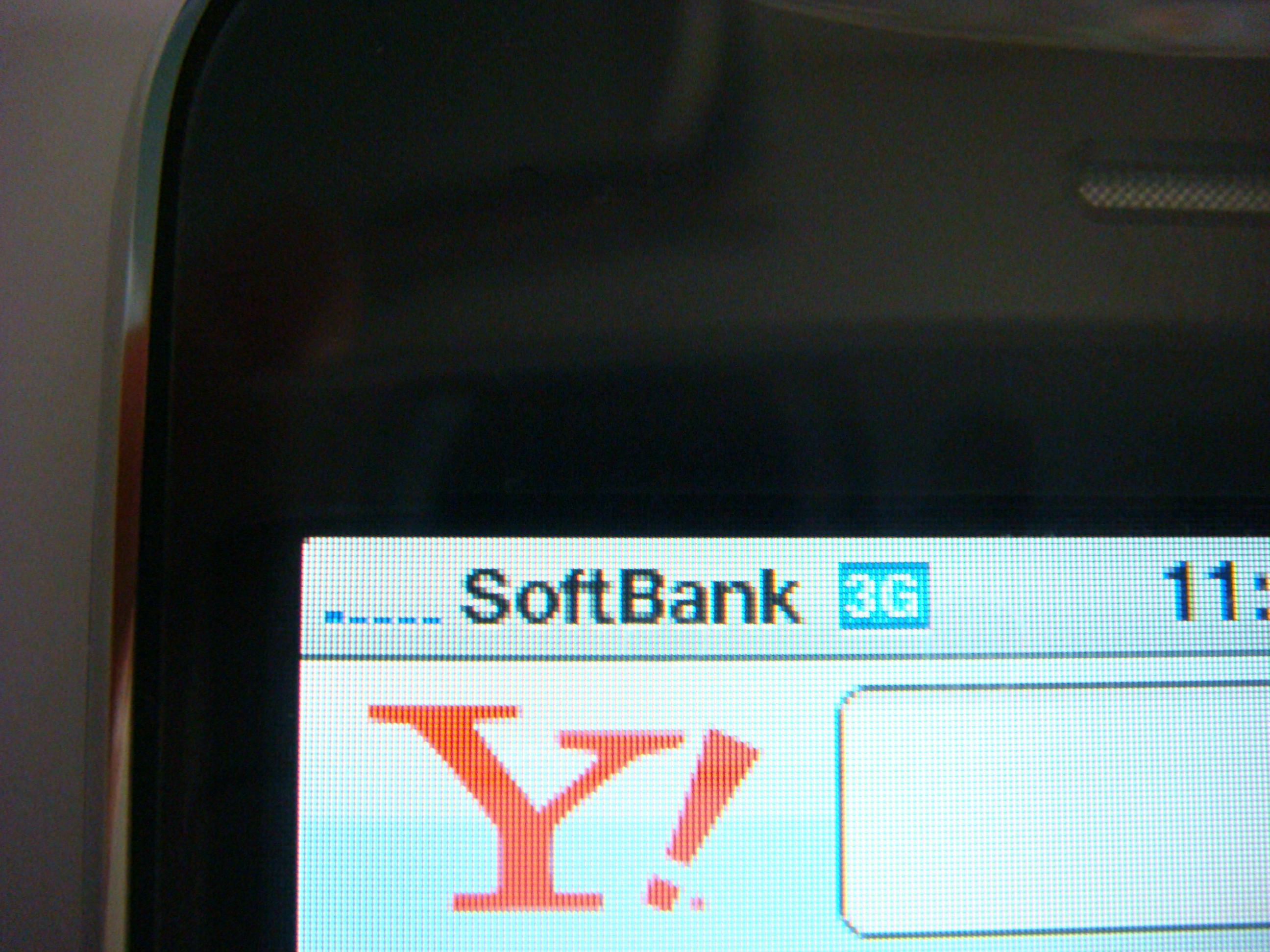 iPhone 3G SoftBank 3G